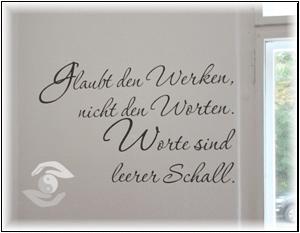 Wandspruch von Paracelsus in der Praxis Simone Kostmann, Frankfurt-Oder